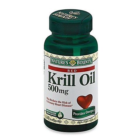 Nature 39 s bounty 30 count krill oil 500 mg softgels bed for Krill or fish oil
