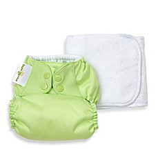 image of bumGenius™ 5.0 One-Size Original Pocket Snap Cloth Diaper in Grasshopper