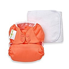 image of bumGenius™ 5.0 One-Size Original Pocket Snap Cloth Diaper in Kiss