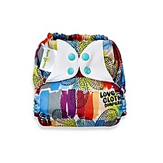 image of bumGenius™ Freetime One-Size All-In-One Snap Cloth Diaper in Love