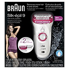 image of Braun Silk-épil 9 Wet and Dry Epilator