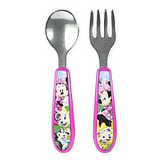 image of Minnie Clubhouse Easy Grasp Flatware