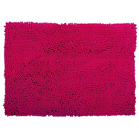 Buy Super Sponge 21 Inch X 34 Inch Bath Mat In Pink From