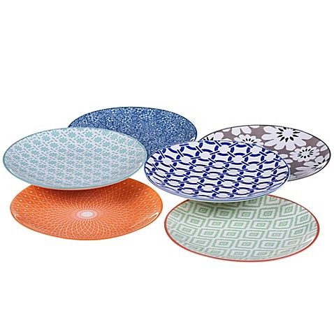 Buy certified international chelsea mix and match canap for Canape plate sets