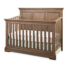 image of Westwood Design Hanley 4-in-1 Convertible Crib in Cashew