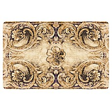 image of the softer side by weather guard flourish bronze kitchen mat