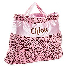 image of Cheetah Nap Bag in Pink