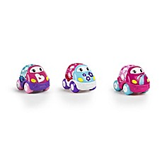 image of Kids II® Go Grippers™ 3-Pack Cars in Pink