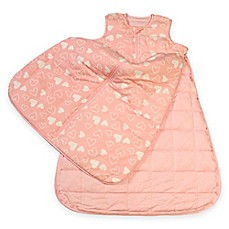 image of Gunamuna Gunapod® Luxury Duvet with WonderZip® in Pink Hearts