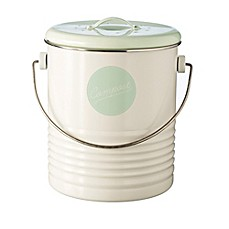 image of typhoon vintage americana compost caddy in cream