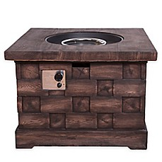 image of Bombay® Wood Look Fire Pit
