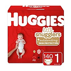 image of Huggies® Little Snugglers 198-Pack Size 1 Mega Colossal Diapers