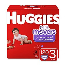 image of Huggies® Little Movers 156-Pack Size 3 Mega Colossal Diapers