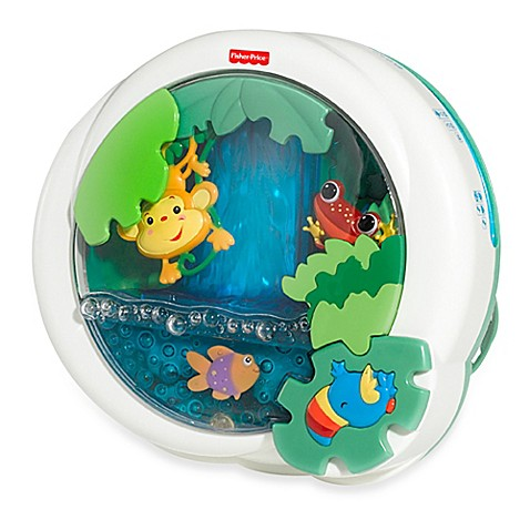 Fisher Price 174 Rain Forest Waterfall Peek A Boo Soother