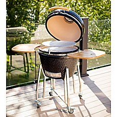 image of Louisiana Grills K24 24-Inch Ceramic Charcoal Barbecue Grill