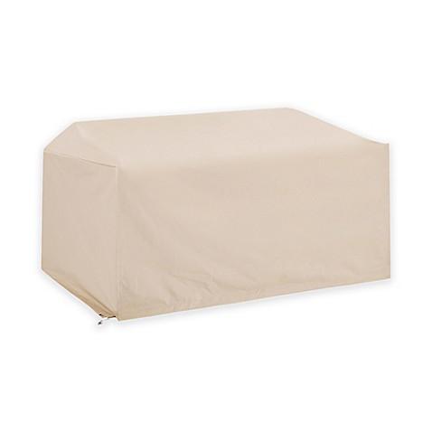 Crosley Outdoor Loveseat Furniture Cover In Brown Bed Bath Beyond