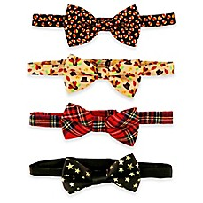 image of Rising Star™ 4-Pack Fall Holiday Bowties