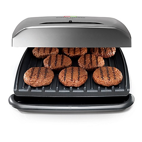 George Foreman 174 8 Serving Electric Grill Bed Bath Amp Beyond