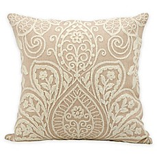 image of Kathy Ireland Medallion Lace Square Throw Pillow
