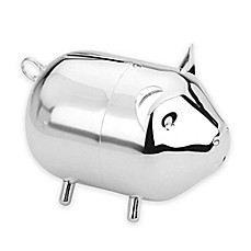 image of Lunt Silversmiths Piggy Coin Bank