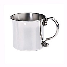 image of Lunt Silversmiths Classic Baby Cup in Pewter