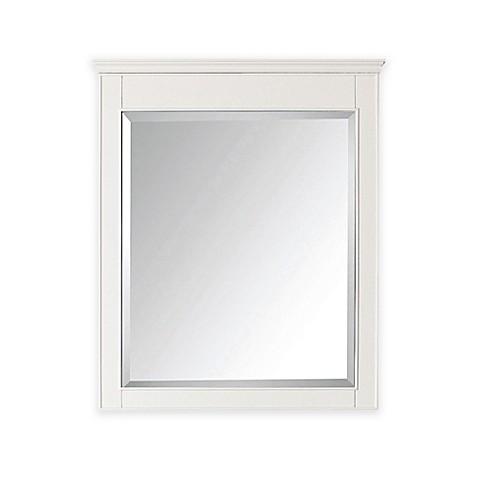 Buy avanity windsor 30 inch x 36 inch rectangular mirror for Mirror 30 x 36