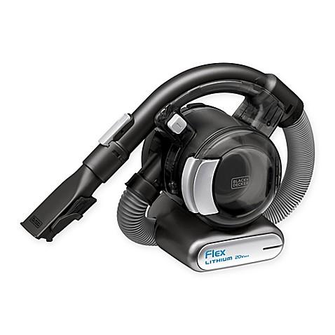 Black Decker 20v Lithium Flex Cordless Hand Vacuum