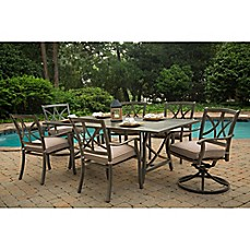 image of Agio Davenport 7-Piece Outdoor Dining Set