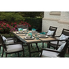 image of Agio Maddox 7-Piece Combo Outdoor Dining Set