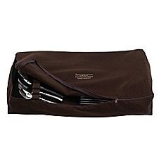 image of Reed & Barton Zippered Flatware Drawer Liner in Brown
