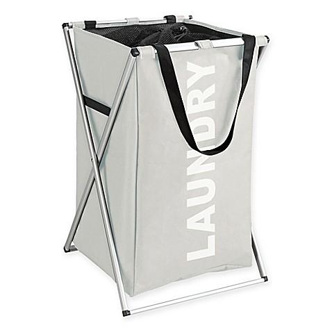 Buy wenko uno laundry bin in beige from bed bath beyond for Beige bathroom bin