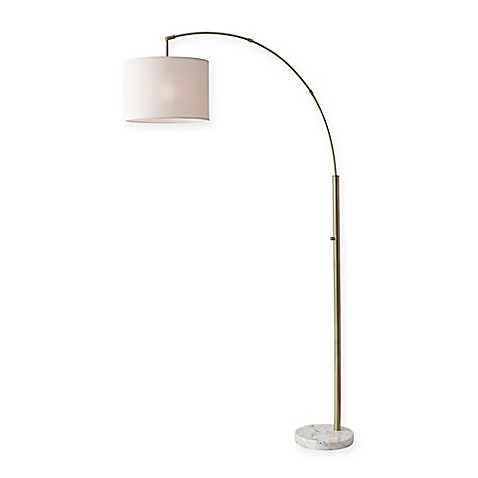 Adesso bowery arc floor lamp