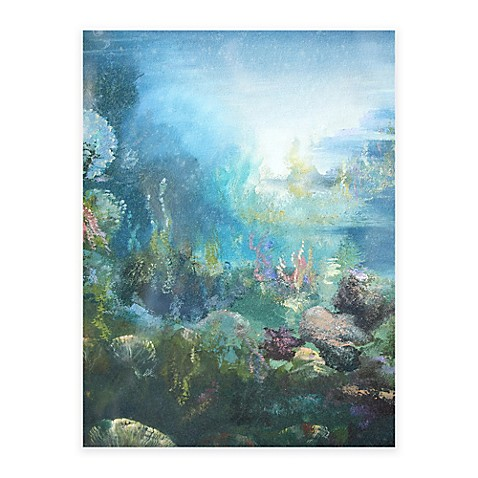 Seascape All Weather Outdoor Canvas Wall Art - Bed Bath & Beyond