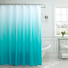 image of Ombre Weave Shower Curtain