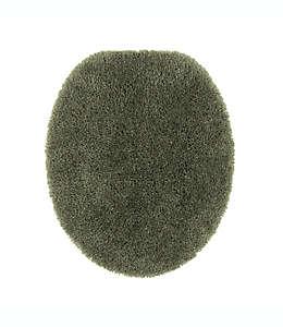 Cubierta alargada para tapa de inodoro Wamsutta® Duet, en verde salvia