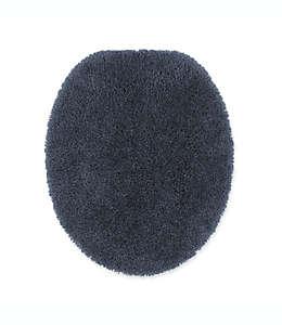 Cubierta alargada para tapa de inodoro Wamsutta® Duet, en azul cobalto