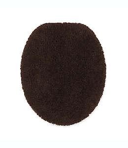Cubierta alargada para tapa de inodoro Wamsutta® Duet, en café java
