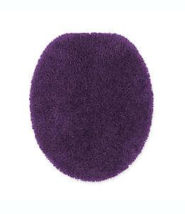 Cubierta alargada para tapa de inodoro Wamsutta® Duet, en púrpura azulado