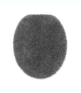 Cubierta alargada para tapa de inodoro Wamsutta® Duet, en gris peltre