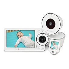 image of Project Nursery® HD Video Baby Monitor System with 1.5-Inch Mini Monitor