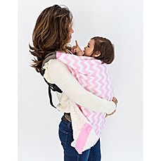 image of Bella Bundles™ Infant 4-in-1 Blanket on the Go in Pink Chevron
