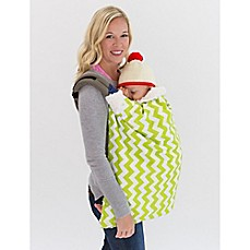 image of Bella Bundles™ Infant 4-in-1 Blanket on the Go in Lime Chevron