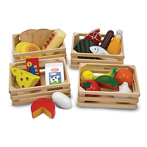 Melissa and Doug® Food Groups Activity Set