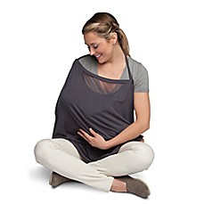 Image Of Boppy® Infinity Nursing Scarf In Grey  Nursing Cover