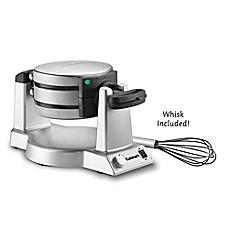 image of cuisinart double belgian waffle maker - Waring Pro Waffle Maker