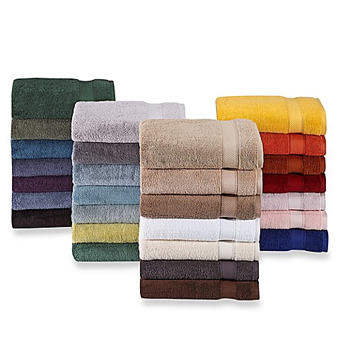 image of Wamsutta  Hygro  Duet Bath Towel Collection. Bath Towels   Beach Towels   White Towels   Bed Bath   Beyond