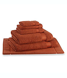 Toalla de medio baño Wamsutta® Hygro® Duet, en rojo arcilla