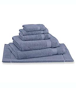 Toalla de medio baño Wamsutta® Hygro® Duet, en gris azulado