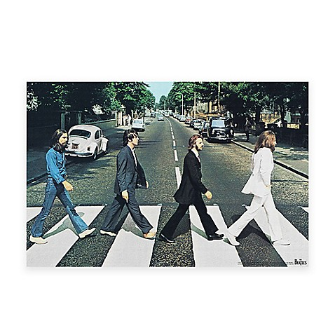 The Beatles Abbey Road Canvas Wall Art - Bed Bath & Beyond