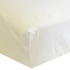 image of Go Mama Go Designs® Organic Cotton Fitted Crib Sheet in Ivory